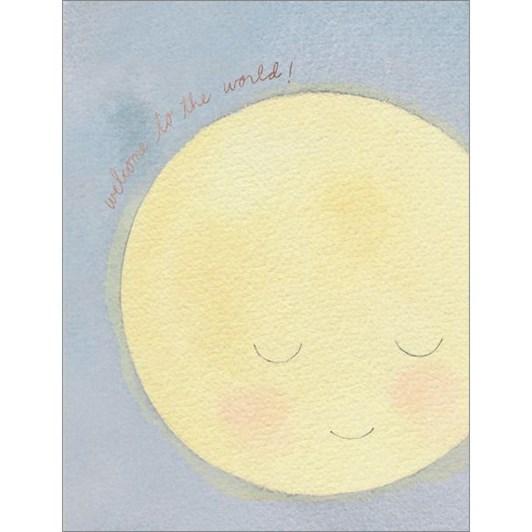 Vevoke Foil Card Baby Moon