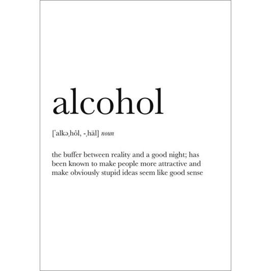 Vevoke Card Alcohol