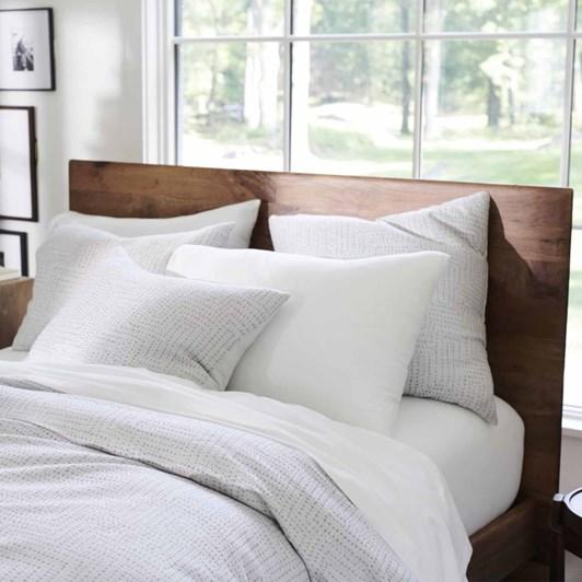 West Elm Tencel Metallic Dots Jacquard Pillow Case