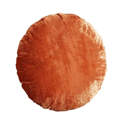 West Elm Round Lush Velvet Cushion Cover 18 Inch
