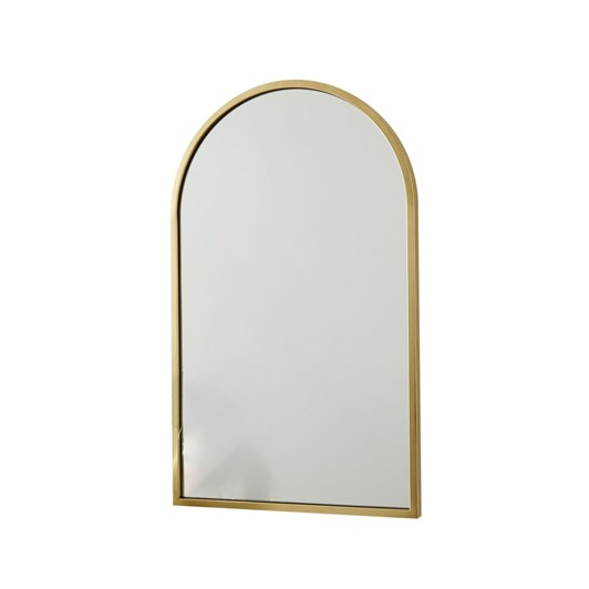 West Elm Metal Framed Arched Mirror 24x36 Inches