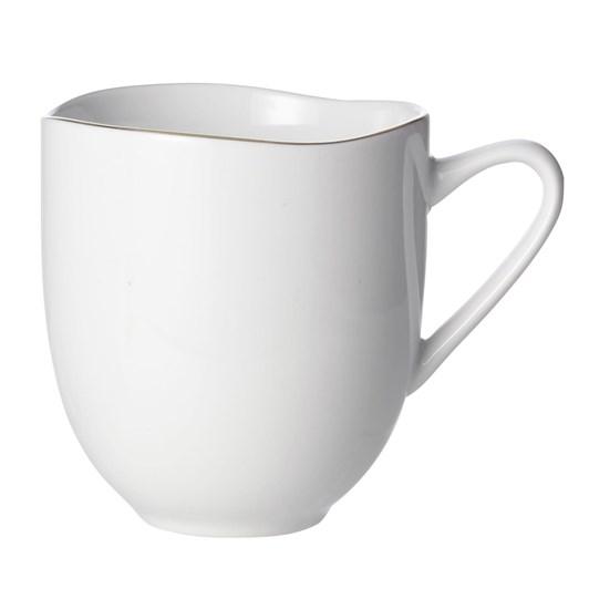 West Elm Organic Dinnerware Mug Gold Rim
