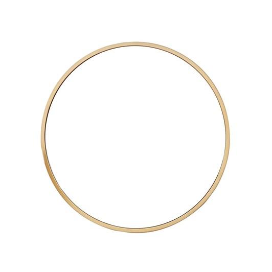 West Elm Metal Framed Mirror Round