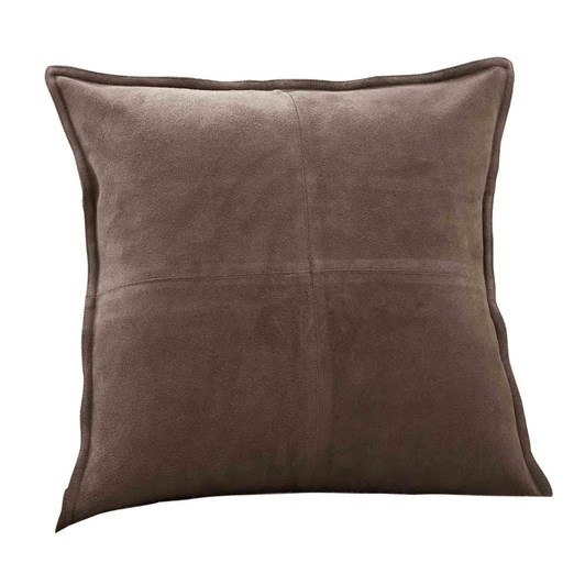 Pottery Barn Pieced Suede Cushion Cover 20x20 Inch