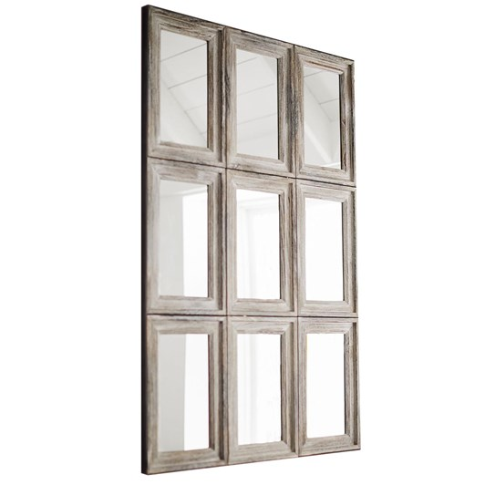 Pottery Barn Aiden Mirror 9 Pane