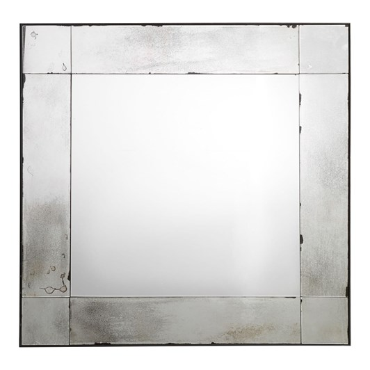 Pottery Barn Tribeca Mirror Square Antiqued