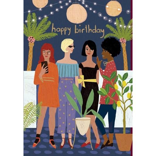 Roger La Borde Birthday Night Out Card