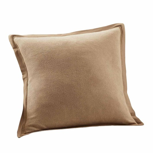 Pottery Barn Cozy Sweatshirt Cushion Cover 20 Inch Camel