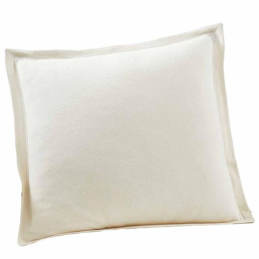 Pottery Barn Cozy Sweatshirt Cushion Cover 20 Inch Ivory