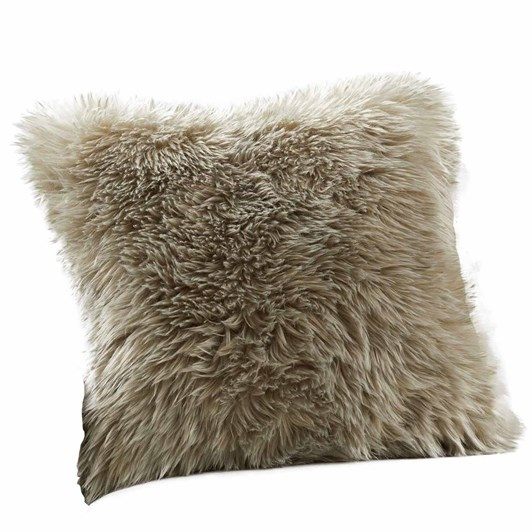 Pottery Barn Cozy Fuzy Cushion Cover 20 Inch Olive