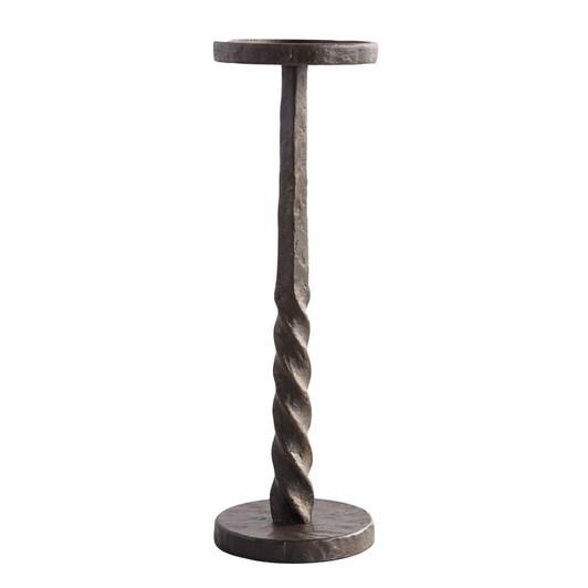 Pottery Barn Easton Iron Candlesticks Large Pillar