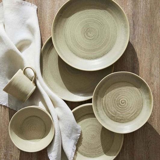 Pottery Barn Frayed Linen Napkin Ivory