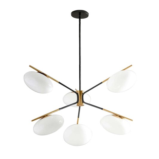 West Elm Champignon Chandelier 6 Light