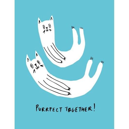 Vevoke Card Purrfect Together