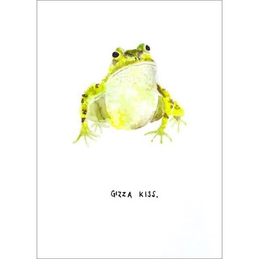 Vevoke Card Gizza Kiss