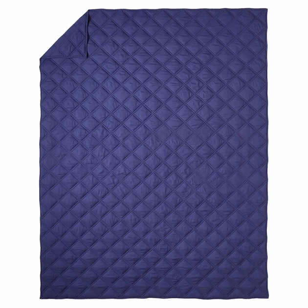 Pottery Barn Kids Casual Essential Quilt - navy
