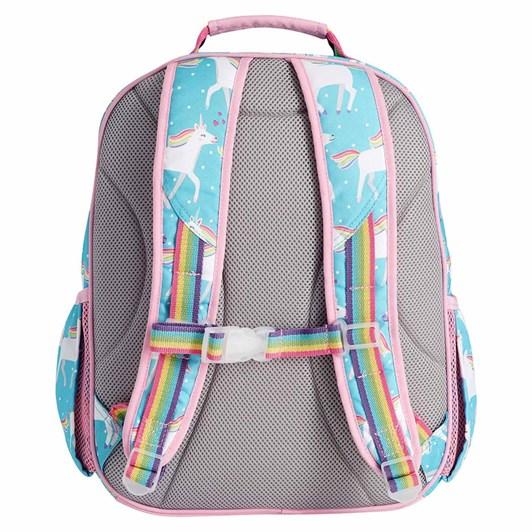 Pottery Barn Kids Mackenzie Unicorn Backpack Aqua Large