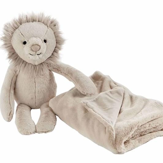 Pottery Barn Kids Lion Huggie Set Taupe