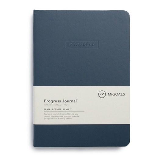 Migoals Progress Journal A5 Soft Cover New Navy