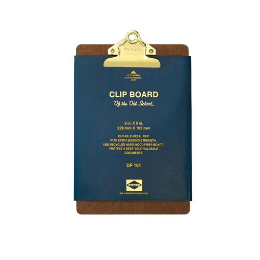 Penco Old School Clipboard A5 Gold Clip