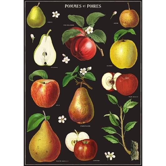 Cavallini Apples & Pears Wrap