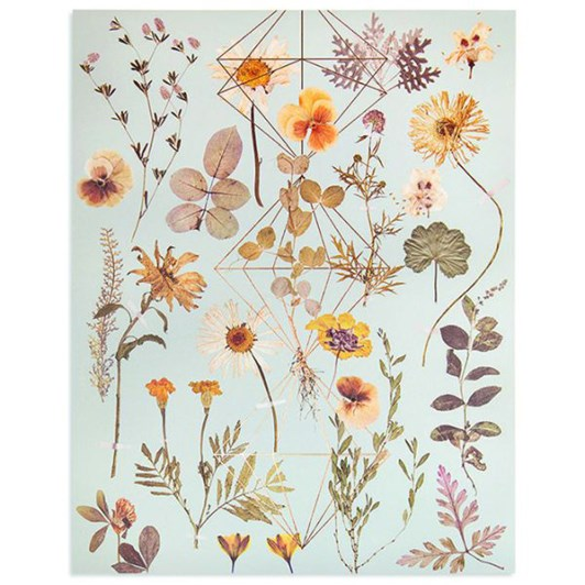 Vevoke Print Golden Garden
