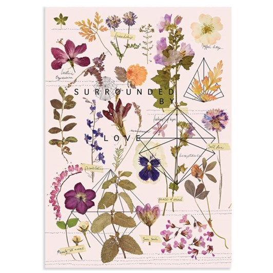 Vevoke Print Love Garden