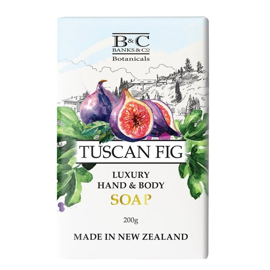 Banks & Co Tuscan Fig Luxury Soap 200g