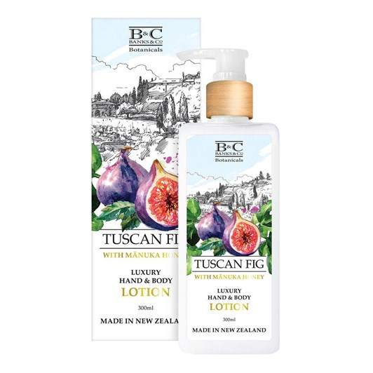 Banks & Co Tuscan Fig Luxury Lotion 300ml
