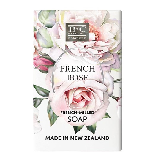 Banks & Co French Rose Luxury Soap 200g