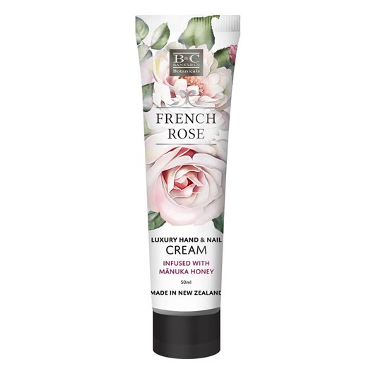 Banks & Co French Rose Hand & Nail Cream 50ml