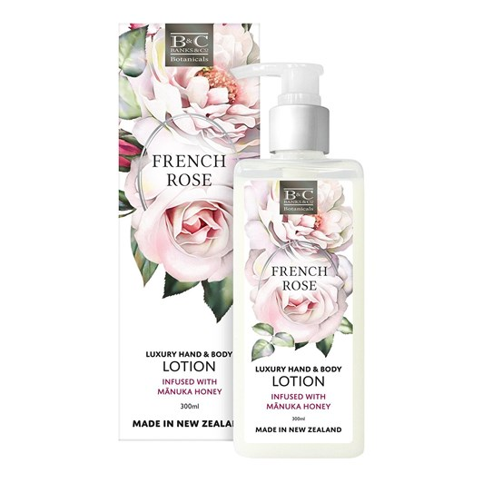 Banks & Co French Rose Luxury Lotion 300ml