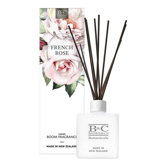 Banks & Co French Rose Luxury Room Diffuser 150ml
