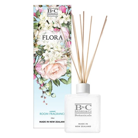 Banks & Co Flora Luxury Room Diffuser 150ml