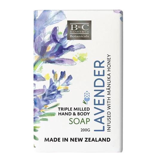 Banks & Co Lavender Luxury Soap 200g