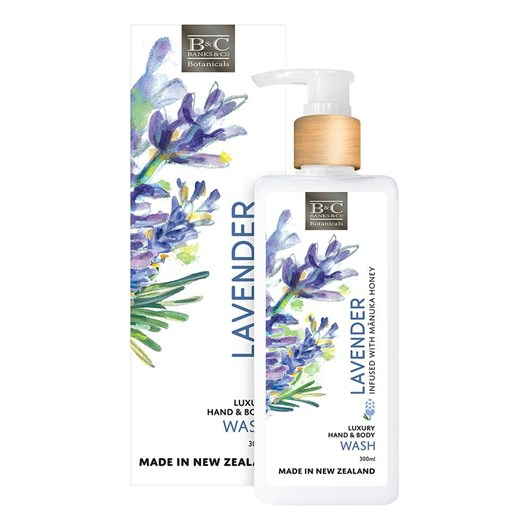 Banks & Co Lavender Luxury Wash 300ml