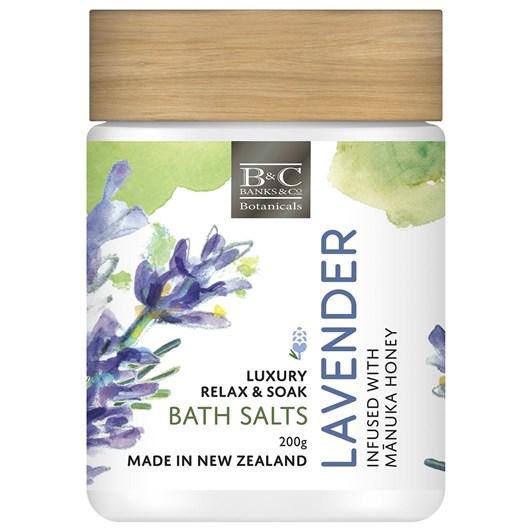 Banks & Co Lavender Luxury Body Scrub 200g