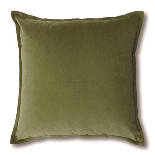 Madras Mira Leaf Velvet Cushion 50x50