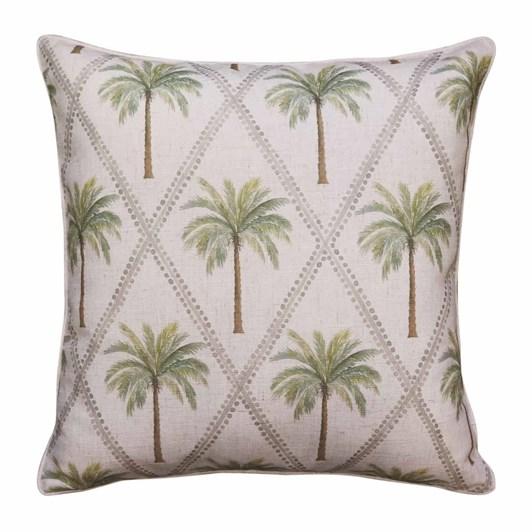Madras Capricorn Green Cushion 55x55