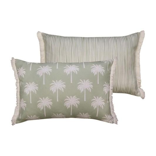 Madras Tropic Light Green Cushion 40x60