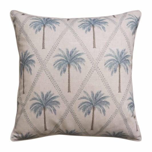 Madras Capricorn Blue Cushion 55x55