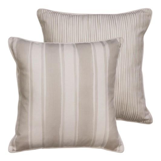 Madras Fraser Stripe Sand Cushion 55x55