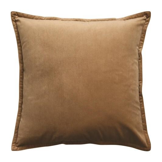 Madras Mira Velvet Toffee Cushion 50x50
