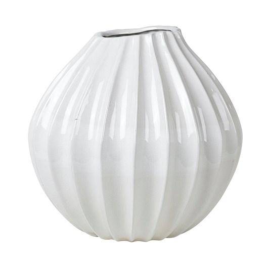 Broste Vase Wide XL White