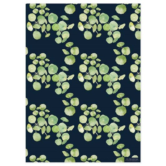 Pancake Plants Navy Wrap