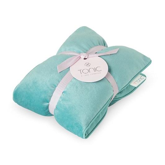 Tonic Luxe Velvet Heat Pillow Seafoam