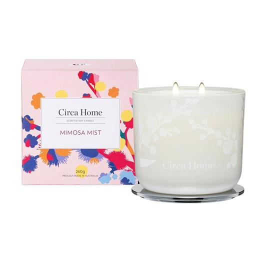 Circa Home Mimosa Mist Soy Candle 260g