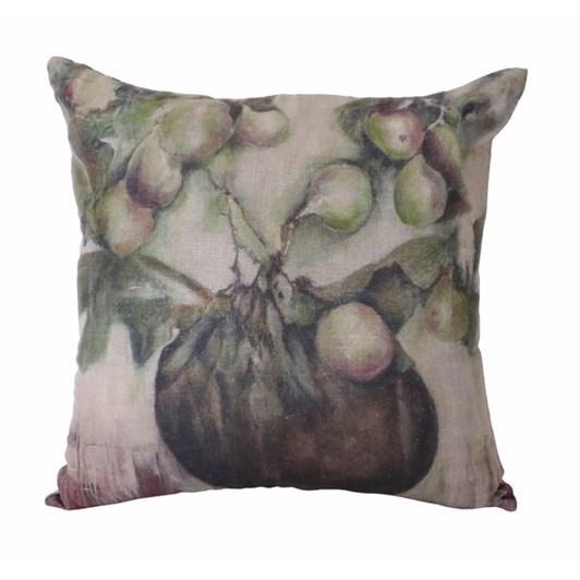 CC Interiors Ivy & Fig Linen Cushion 55x55cm