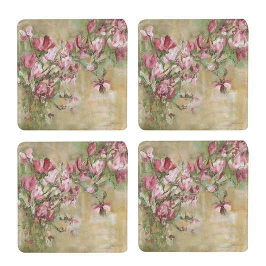 CC Interiors Magnolia Limone Coaster Set Of 4
