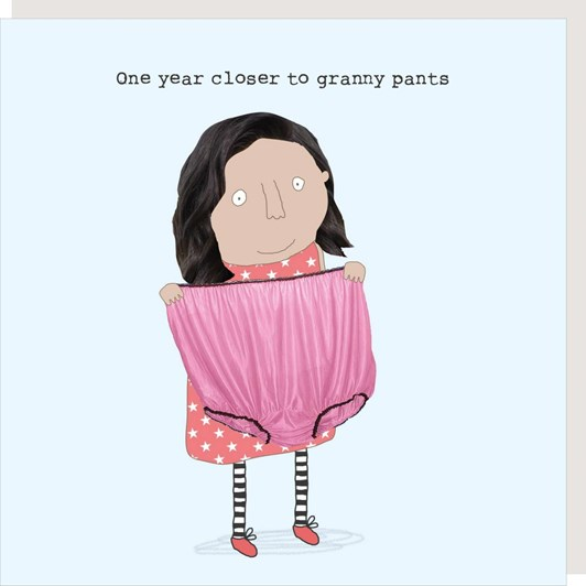 Granny Pants Card